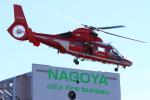 Dickiesさんが、名古屋港ガーデンふ頭で撮影した名古屋市消防航空隊 AS365N3 Dauphin 2の航空フォト(写真)