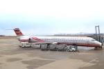 ぽっぽさんが、新潟空港で撮影した遠東航空 MD-83 (DC-9-83)の航空フォト(写真)