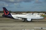 ぽっぽさんが、ブリュッセル国際空港で撮影したブリュッセル航空 A319-111の航空フォト(写真)