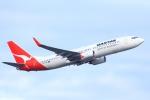 ぽっぽさんが、シドニー国際空港で撮影したカンタス航空 737-838の航空フォト(写真)