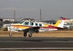 LOTUSさんが、八尾空港で撮影した航空大学校 A36 Bonanza 36の航空フォト(写真)