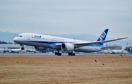 FRTさんが、松山空港で撮影した全日空 787-9の航空フォト(飛行機 写真・画像)