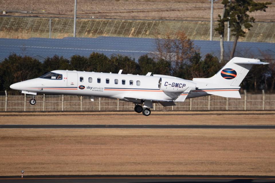 kumagorouさんのスカイサービス・ビジネス・アビエーション Learjet 45 (C-GMCP) 航空フォト