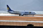 kiraboshi787さんが、長崎空港で撮影したスカイマーク 737-86Nの航空フォト(写真)