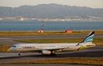 ハピネスさんが、関西国際空港で撮影したエアプサン A321-231の航空フォト(写真)