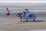 E-75さんが、函館空港で撮影した鹿児島国際航空 AW109SPの航空フォト(写真)