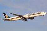 おみずさんが、成田国際空港で撮影したシンガポール航空 777-312/ERの航空フォト(写真)