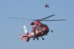 はっくさんが、ハーバーシティ蘇我内共用第2駐車場で撮影した千葉市消防航空隊 AS365N3 Dauphin 2の航空フォト(写真)