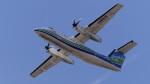 オキシドールさんが、福岡空港で撮影したオリエンタルエアブリッジ DHC-8-201Q Dash 8の航空フォト(写真)