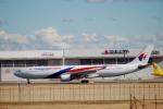 なまくら はげるさんが、成田国際空港で撮影したマレーシア航空 A330-323Xの航空フォト(写真)