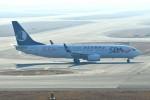 シュウさんが、関西国際空港で撮影した山東航空 737-85Nの航空フォト(写真)