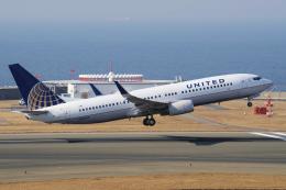 yabyanさんが、中部国際空港で撮影したユナイテッド航空 737-824の航空フォト(飛行機 写真・画像)