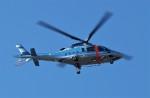 ハミングバードさんが、名古屋飛行場で撮影した愛媛県警察 A109E Powerの航空フォト(写真)