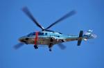 ハミングバードさんが、名古屋飛行場で撮影した愛知県警察 A109E Powerの航空フォト(写真)
