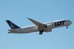 だいすけさんが、成田国際空港で撮影したLOTポーランド航空 787-8 Dreamlinerの航空フォト(写真)