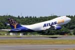 ☆ライダーさんが、成田国際空港で撮影したアトラス航空 747-47UF/SCDの航空フォト(写真)