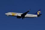 地主さんが、成田国際空港で撮影したMIATモンゴル航空 737-8ASの航空フォト(写真)