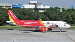 westtowerさんが、台中空港で撮影したベトジェットエア A320-214の航空フォト(写真)