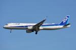 ktaroさんが、羽田空港で撮影した全日空 A321-211の航空フォト(写真)