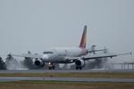 xxxxxzさんが、静岡空港で撮影したアシアナ航空 A320-232の航空フォト(飛行機 写真・画像)