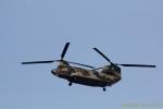 湖景さんが、茨城空港で撮影した航空自衛隊 CH-47J/LRの航空フォト(写真)