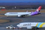 中村 昌寛さんが、新千歳空港で撮影したハワイアン航空 767-3CB/ERの航空フォト(写真)
