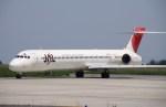 hkg blue skyさんが、静岡空港で撮影した日本航空 MD-90-30の航空フォト(飛行機 写真・画像)