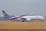 トロピカルさんが、成田国際空港で撮影したタイ国際航空 A350-941XWBの航空フォト(写真)