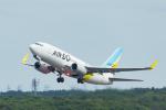 中村 昌寛さんが、新千歳空港で撮影したAIR DO 737-781の航空フォト(写真)