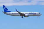 PASSENGERさんが、オークランド空港で撮影したサモア・エアウェイズ 737-86Nの航空フォト(写真)