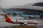 ハピネスさんが、関西国際空港で撮影したチェジュ航空 737-86Nの航空フォト(写真)