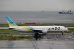 ハピネスさんが、羽田空港で撮影したAIR DO 767-33A/ERの航空フォト(写真)