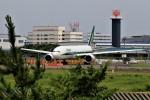 ☆ライダーさんが、成田国際空港で撮影したアリタリア航空 777-243/ERの航空フォト(写真)