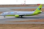 jun☆さんが、関西国際空港で撮影したジンエアー 737-86Nの航空フォト(写真)