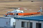 jun☆さんが、南紀白浜空港で撮影した和歌山県防災航空隊 412EPの航空フォト(写真)
