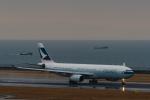 YZR_303さんが、中部国際空港で撮影したキャセイパシフィック航空 A330-343Xの航空フォト(写真)