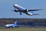 中村 昌寛さんが、新千歳空港で撮影した全日空 777-381の航空フォト(写真)