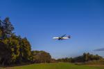 mameshibaさんが、成田国際空港で撮影したデルタ航空 A350-941XWBの航空フォト(写真)