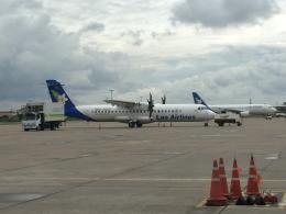 ワットタイ国際空港 - Wattay International Airport [VTE/VLVT]で撮影されたワットタイ国際空港 - Wattay International Airport [VTE/VLVT]の航空機写真