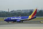 狛犬さんが、ロナルド・レーガン・ワシントン・ナショナル空港で撮影したサウスウェスト航空 737-7H4の航空フォト(写真)