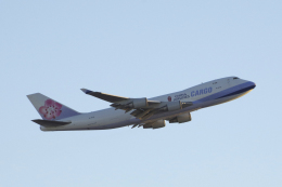 狛犬さんが、サンフランシスコ国際空港で撮影したチャイナエアライン 747-409F/SCDの航空フォト(写真)