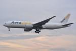 トロピカルさんが、成田国際空港で撮影したエアロ・ロジック 777-FZNの航空フォト(写真)