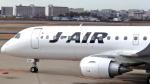 誘喜さんが、伊丹空港で撮影したジェイ・エア ERJ-190-100(ERJ-190STD)の航空フォト(写真)