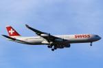 A-Chanさんが、成田国際空港で撮影したスイスインターナショナルエアラインズ A340-313Xの航空フォト(写真)