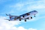 キハとエアバスさんが、青森空港で撮影したジェイ・エア ERJ-190-100(ERJ-190STD)の航空フォト(写真)
