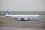 LEGACY747さんが、新千歳空港で撮影したキャセイパシフィック航空 747-412の航空フォト(写真)