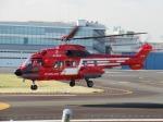 ランチパッドさんが、東京ヘリポートで撮影した東京消防庁航空隊 AS332L1の航空フォト(写真)