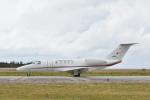 なないろさんが、下地島空港で撮影した兼松 525C Citation CJ4の航空フォト(写真)