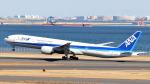 誘喜さんが、羽田空港で撮影した全日空 777-381/ERの航空フォト(写真)