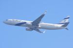 sky77さんが、ミラノ・マルペンサ空港で撮影したエル・アル航空 737-958/ERの航空フォト(写真)